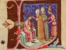 III. István koronázása